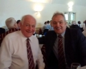 Ray Pritchard (Choir) and Chris Brown (trustee)