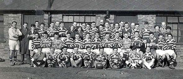 Club line-up 1952-53