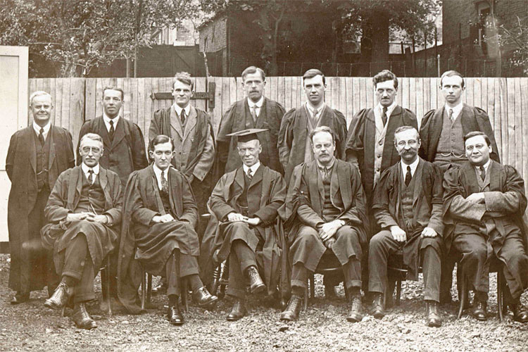 Please help name the teachers on this lineup dated 1928
