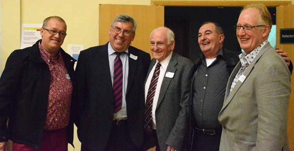 Steve Hattersley; John Wojciechowski; Ray Pritchard; Peter Love and Andy Kettle